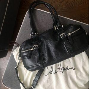 Black Cole Haan bag purse cross body or shoulder